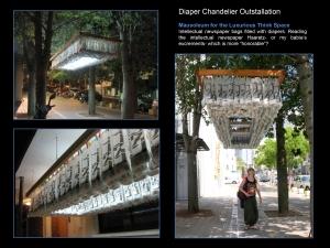 diaper chandelier