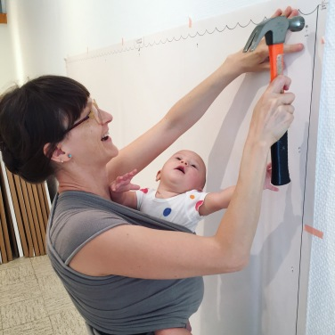 installing work w baby