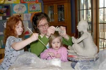 JMW with Children